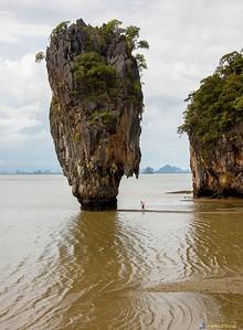 James Bond Is., (Motion Picture Film Set) Ao Phang Nga NP Phang Nga Bay , Adaman Sea, Thailand