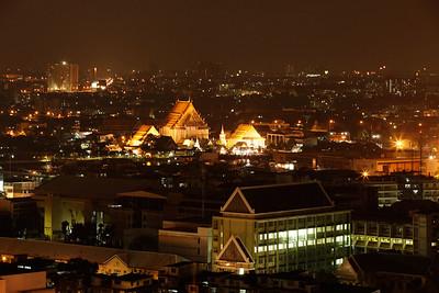 Bangkok, Thailand Bangkok at night.