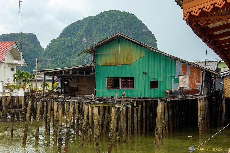 Koh Panyee Village <br /> Andaman Sea, South Thailand