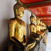 Budddha statues at Wat Po