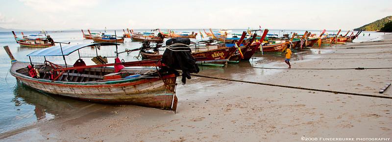 Long-Tail Boats II, Ko Phi Phi