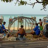 Constructing Fish Trap<br /> Phi Phi Is., Thailand