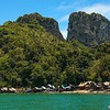 Sea Gypsy Village<br /> Tong Cape, Phi Phi Is., Thailand