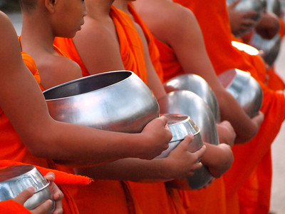 Young monks in Chiang Mai