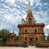 Chalong Buddist Temple<br /> Chalong, Phuket Is., Thailand
