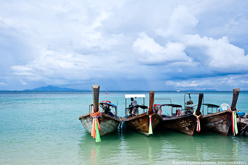 Long-Tail Boats, Ko Phi Phi