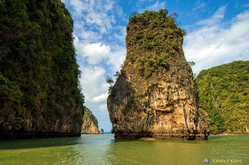Panak Is., Phang Nga NP<br /> Andaman Sea, Thailand