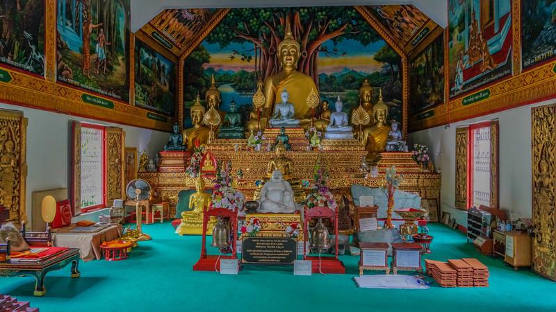 Wat Ou Sai Kham, a temple, in Chiang Mai, Thailand