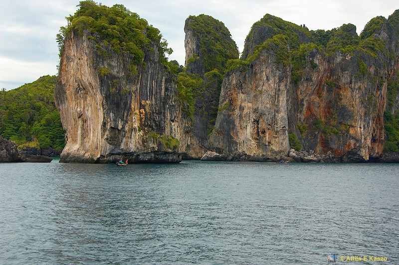 Limestone Is.<br /> Phi Phi Is., Thailand