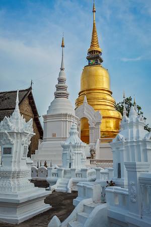 Wat Suan Dok ( Buddhist temple (Wat)). Chiang Mai, northern Thailand