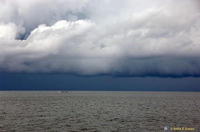 Storm / Tain Boat Andaman Sea, Thailand