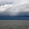 Storm / Tain Boat<br /> Andaman Sea, Thailand