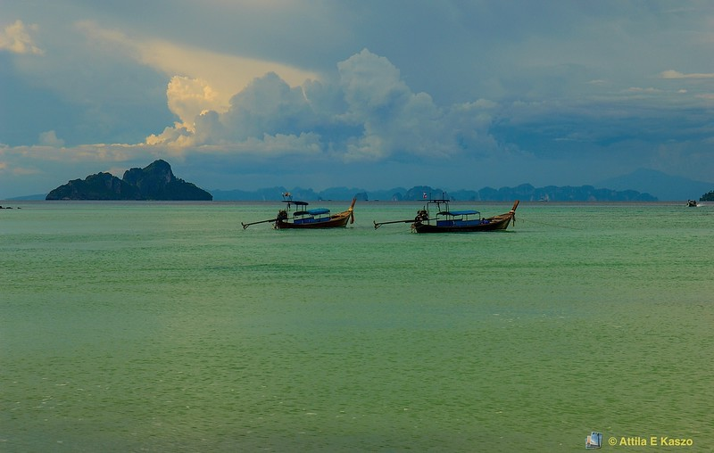 Afternoon Storm<br /> Lobagao Bay, Phi Phi Is., Thailand
