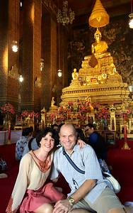 Inside the Main Chapel at Wat Pho is Phra Buddha Deva Patimakorn - Bangkok