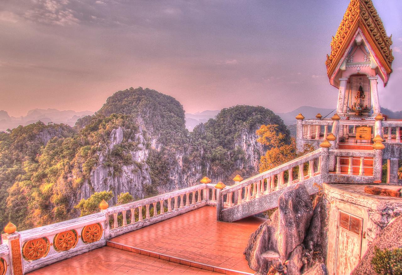 Atop Tiger Temple (Wat Tham Seua) - Krabi