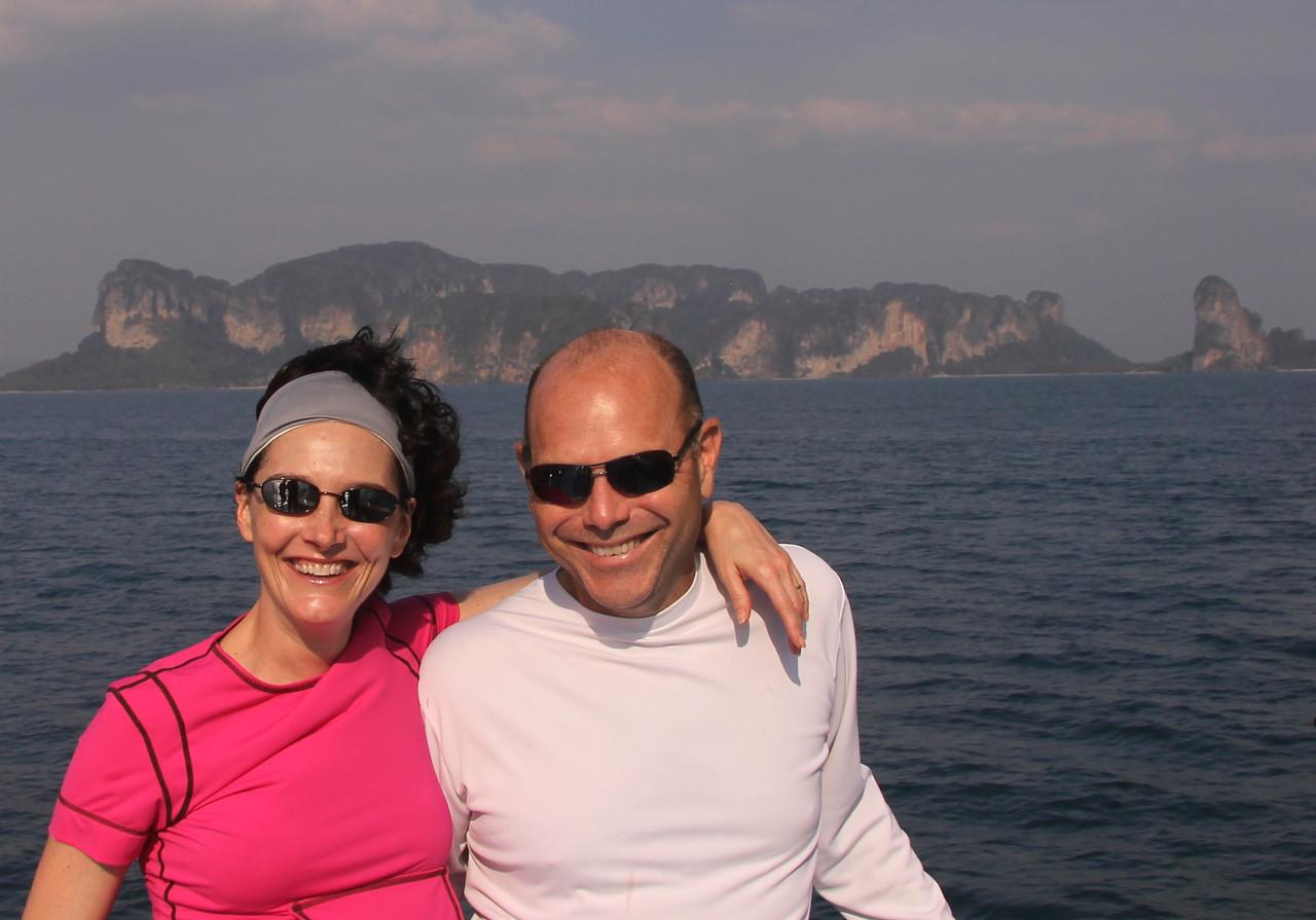 Post scuba diving smiles!