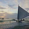 Sailing boat, Boracay
