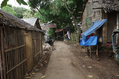 Local neighborhood on Boracay