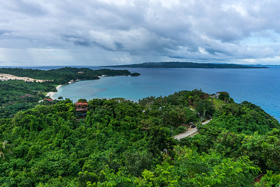 View of Boracay from Mount Luho