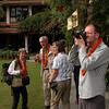 Tb 0013 AGS groep in tuin van Shangri La hotel