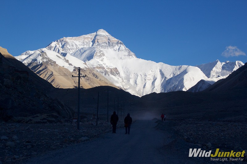 tibet tour - mount everest