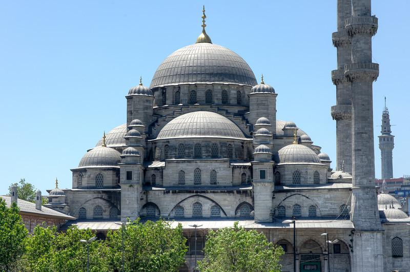 Elaborate architectural design of Hagia Sophia - Istanbul, Turkey