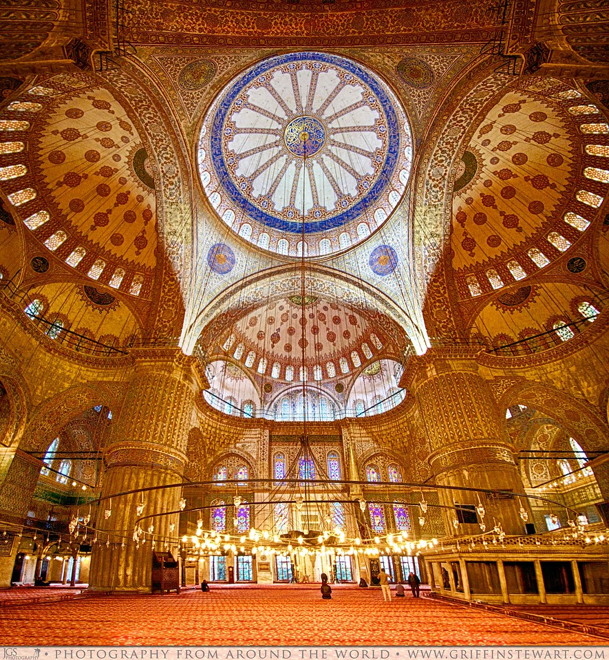 The Blue Mosque Panoramic HDR