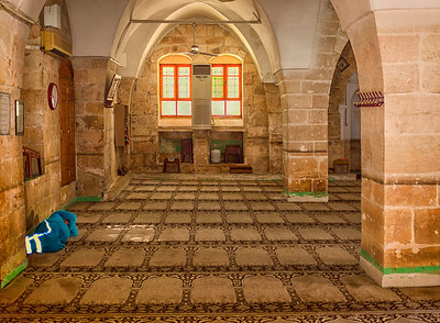This mosque in the town of Urfa, Turkey contains an ancient cave where Muslim tradition says Abraham was born.