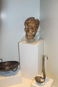 Skull of King Midas at the Museum of Anatolian Civilizations in Ankara