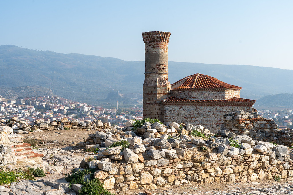 View from the Selçuk Castle ruins