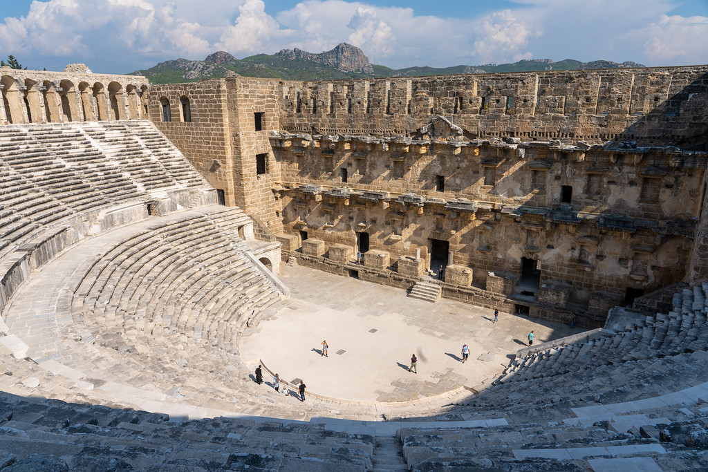Aspendos Theater in Turkey