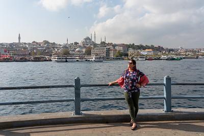 Amanda in Istanbul
