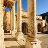 Celsus Library Columns