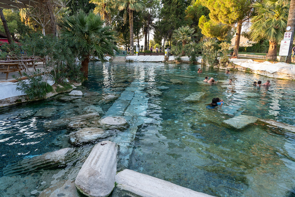 Cleopatra's Pool in Pamukkale