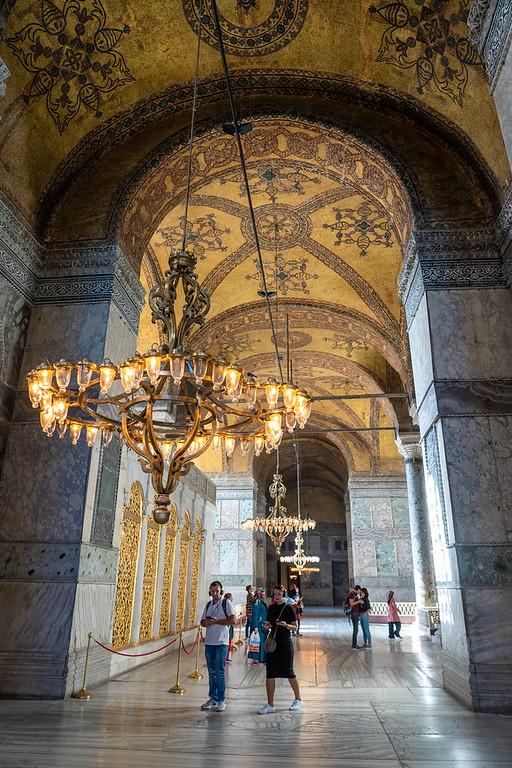 Details inside Hagia Sophia