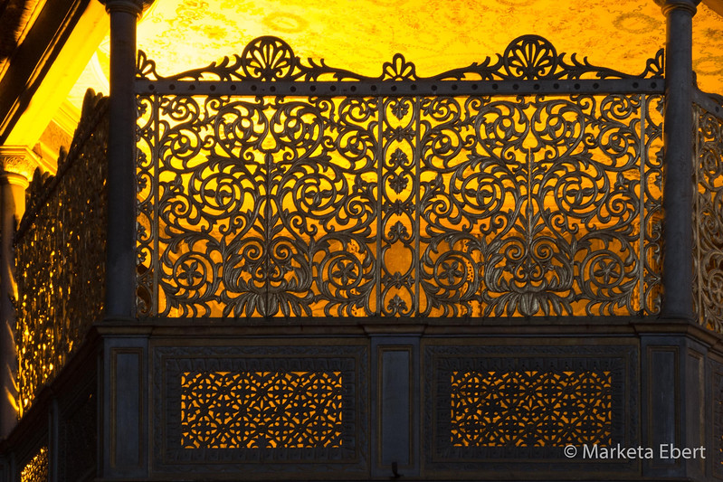 Hagia Sophia pulpit detail