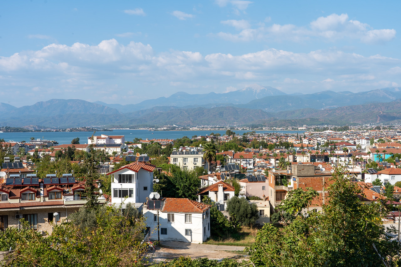 Looking out over Fethiye