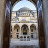 Suleyman the Magnificent Mosque entrance