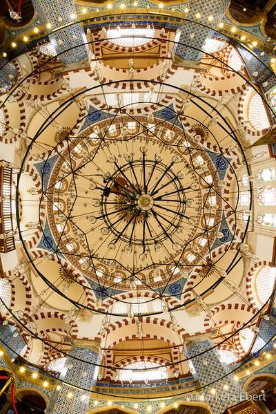 Rustem Pasha Mosque ceiling