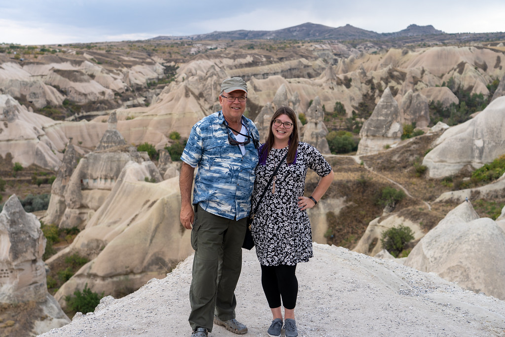 Amanda and Dave in Cappadocia