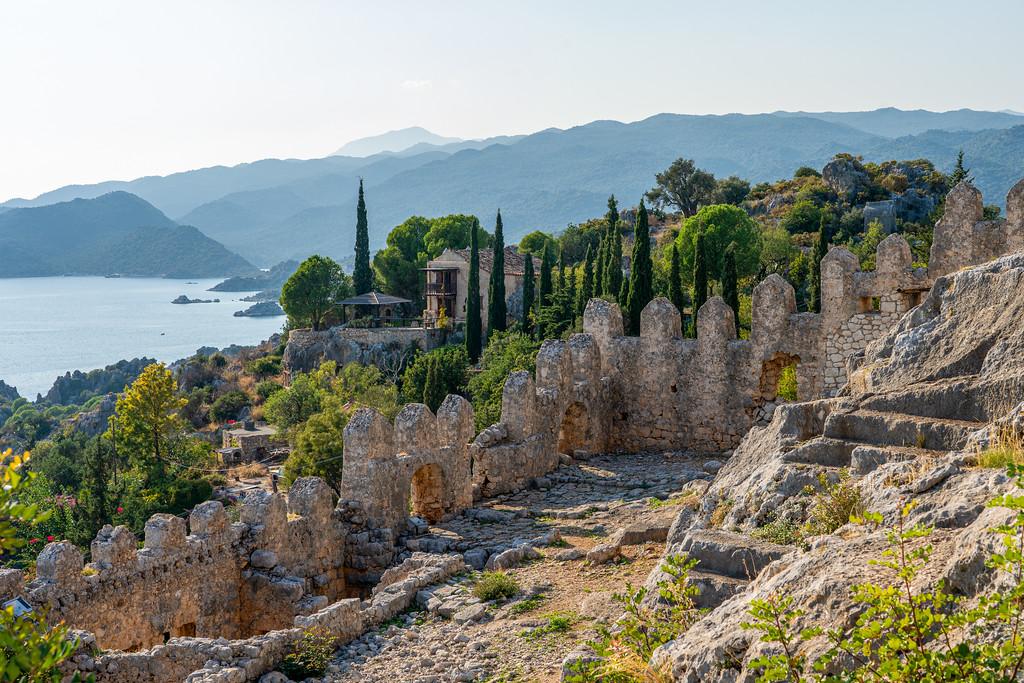 Ruins of Simena Castle