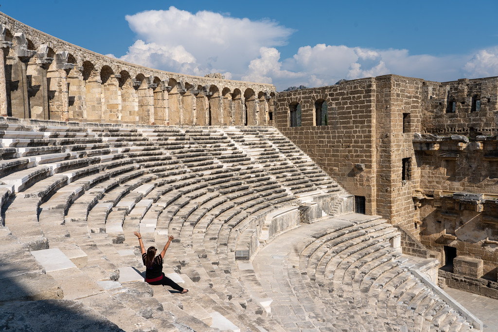 Aspendos Theatre in Turkey