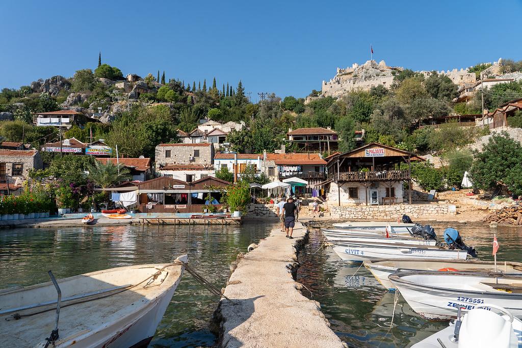 Kaleköy village in Turkey