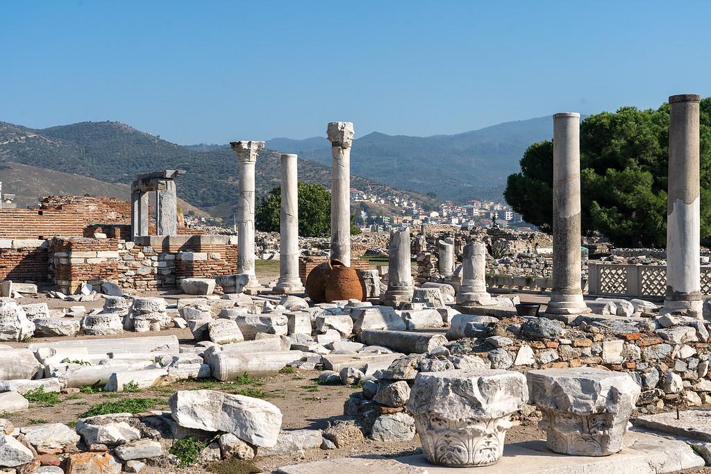 Basilica of St John ruins in Selcuk