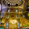 Interior of New Mosque, Istanbul