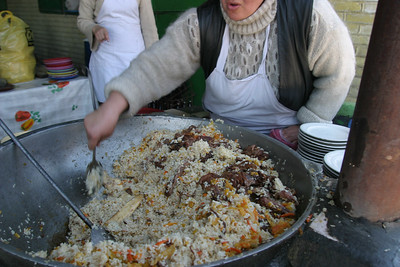 ASHGABAT - Tolkuchka bazaar