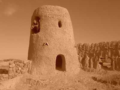 Mud Towers and Fortress - Murche, Turkmenistan