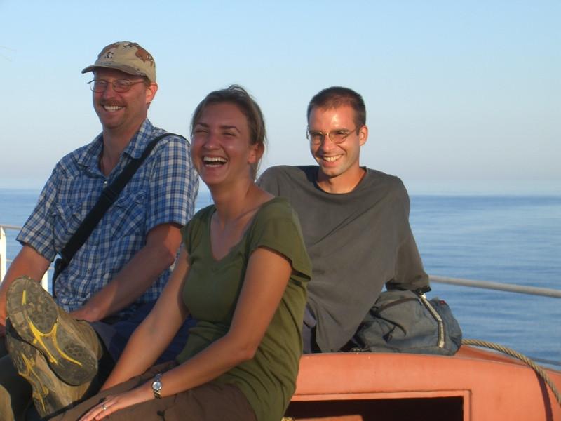 Turkmen Tour Group on Caspian Sea - Azerbaijan, Turkmenistan