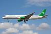 """EZ-A012 Boeing 757-22K """"Turkmenistan Airlines"""" c/n 28337 Heathrow/EGLL/LHR 18-07-09"""