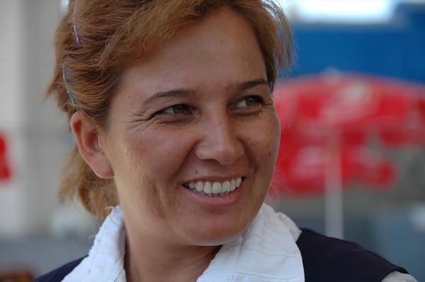 Smiling Woman - Ashgabat, Turkmenistan